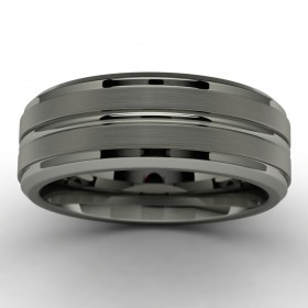 Tantalum Wedding Band